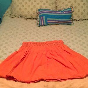 DownEast Orange skirt